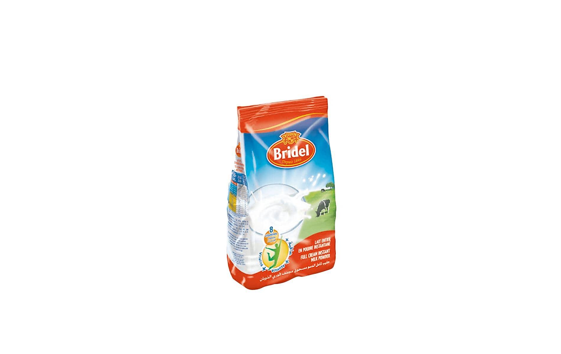 -10 % sur le lait en poudre Bridel