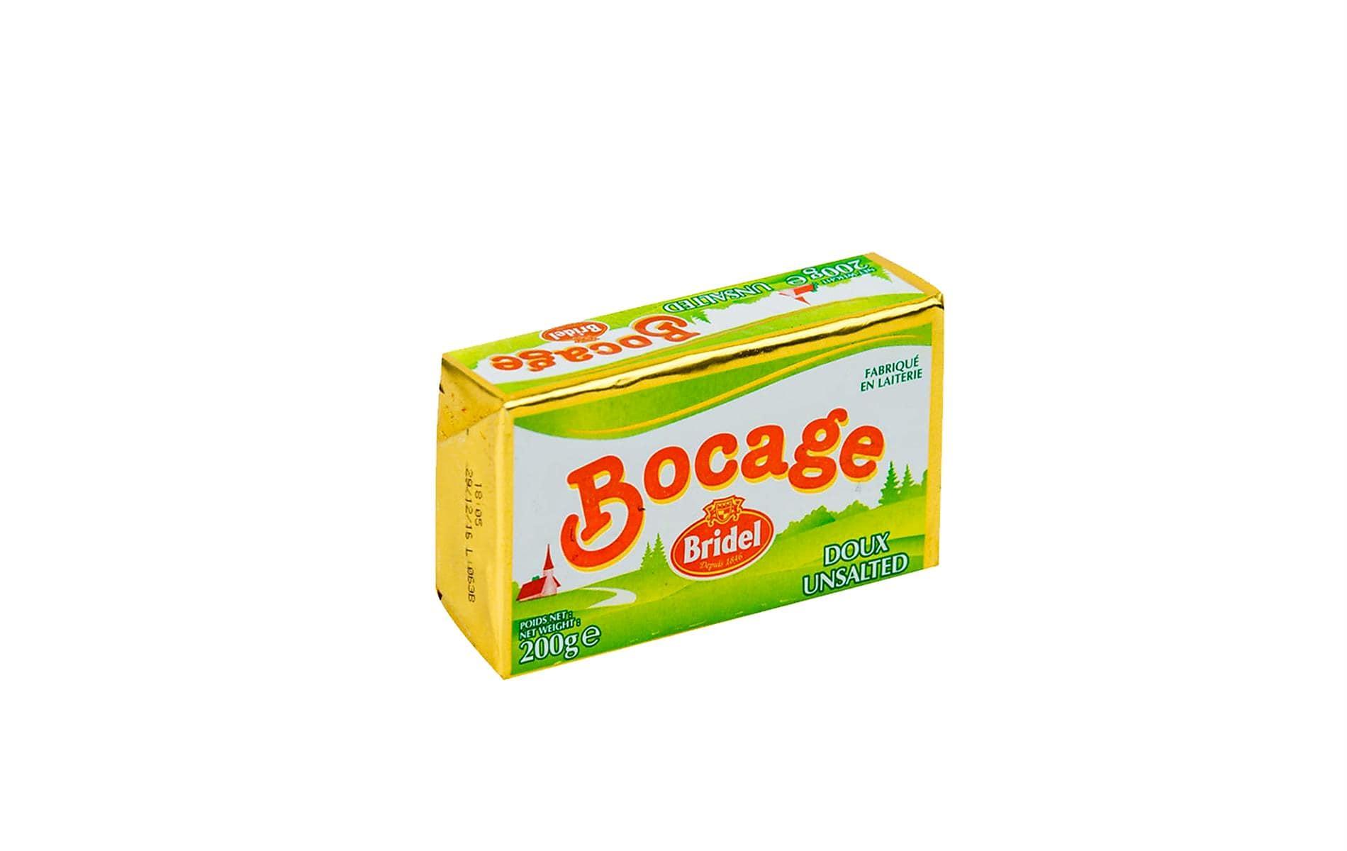 -7% sur le beurre bloc Bocage